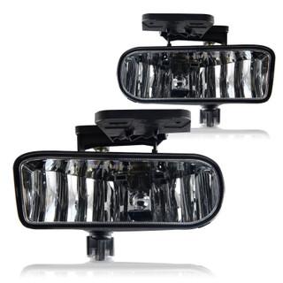 1999-2002 GMC Sierra 1500 / 2500 Replacement Fog Lights - (Clear)