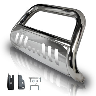 2004 - 2014 Ford F-150 3 inch Bull Bar  - (Don't Fit Heitage Model) - Stainless Steel