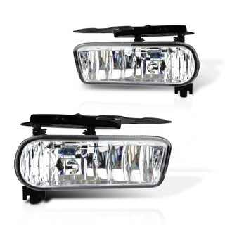2002-2006 Cadillac Escalade Replacement Fog Lights - (Clear)