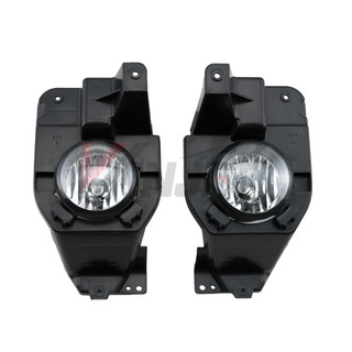 Winjet 2011-2015 Ford Explorer Replacement Fog Light Set - Clear