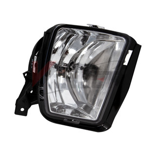 Winjet 2013-2018 Dodge RAM Fog Lights - Clear (Not Compatible on Rebel Models)