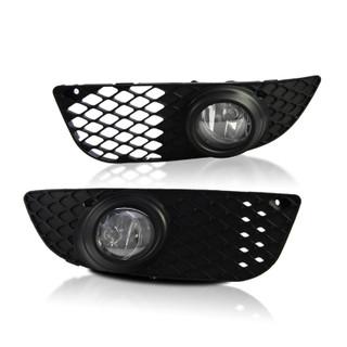 2007-2012 Mitsubishi Lancer Fog Lights Wiring Kit Included - Clear