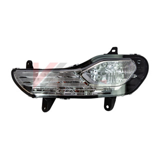 Winjet 2013-2016 Ford Escape Fog Lights - Clear