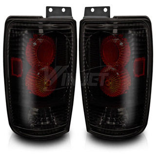 1997-2002 Ford Expedition Altezza Tail Light - Black/Smoke