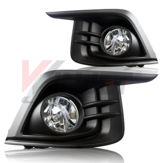 2017 Chevrolet Sonic Fog Lights - Clear - (Wiring kit Included)