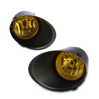 2007-2013 Toyota Tundra (Don't fit plastic bumper) Fog Lights - Yellow - (Wiring Kit Included)