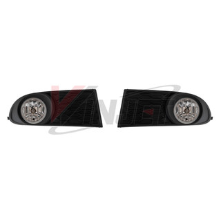 Winjet 2010-2018 Dodge Journey Fog Light - Clear (Wiring Kit and Bezels Included)