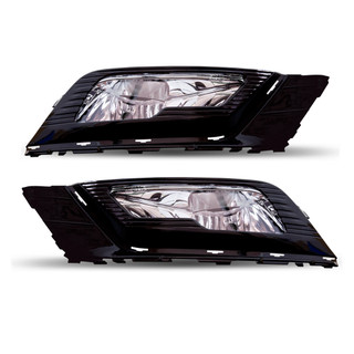 2017-2018 Ford Fusion Fog Lights - Clear (Wiring Kit Included)