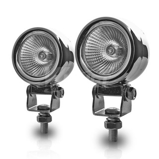"""2"""" Round Universal Metal Driving Lights - Clear"""
