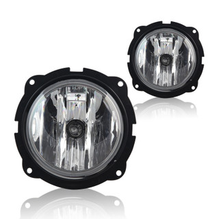 2007-2012 Ford Escape Fog Lights - Clear (Wiring Kit Included)