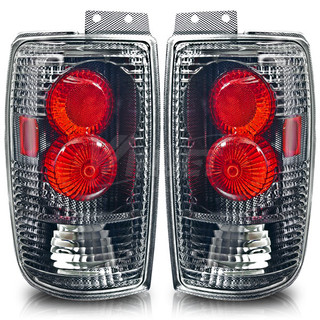 1997-2002 Ford Expedition Altezza Tail Light - Carbon Fiber/Clear