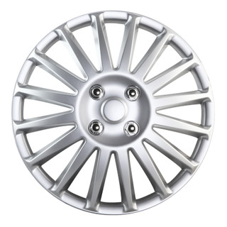 16 inch Universal Silver Wheel Cover Set of 4