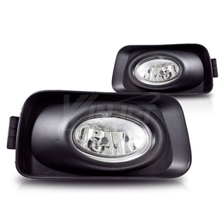 2003-2005 Acura TSX Fog Lights - (Wiring Kit Included) - (Clear)