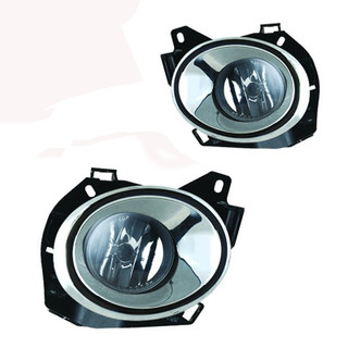 2013-2016 Nissan Pathfinder Fog Lights - (Wiring Kit Inclunded) - (Clear)