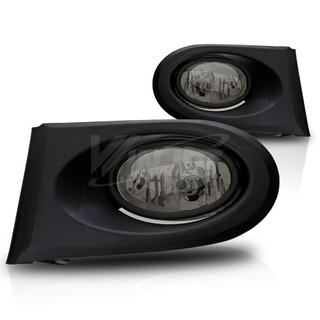 2002-2004 Acura RSX Fog Lights - Wiring Kit Included - (Smoke)