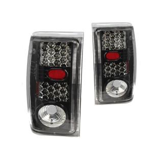 2000-2005 Ford Ranger LED Tail Lights - Gloss Black / Clear