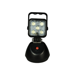4 inch 12W Square Heavy Duty High Powered LED Work Lights FLOOD BEAM With Build-in Battery And Magnetic Base