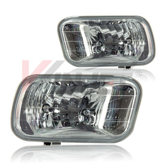 2009-2012 Dodge Ram Fog Lights - Clear