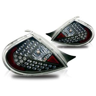2000-2002 Dodge Neon LED Tail Light - Black/Clear