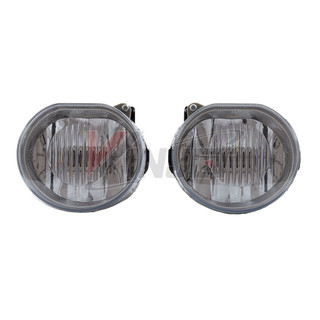 Winjet 2002-2004 Jeep Liberty Clear Replacement Fog Light Set