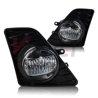 2013-2014 Lexus GS 350 LED Fog Lights - Clear - (Wiring Kit Included)