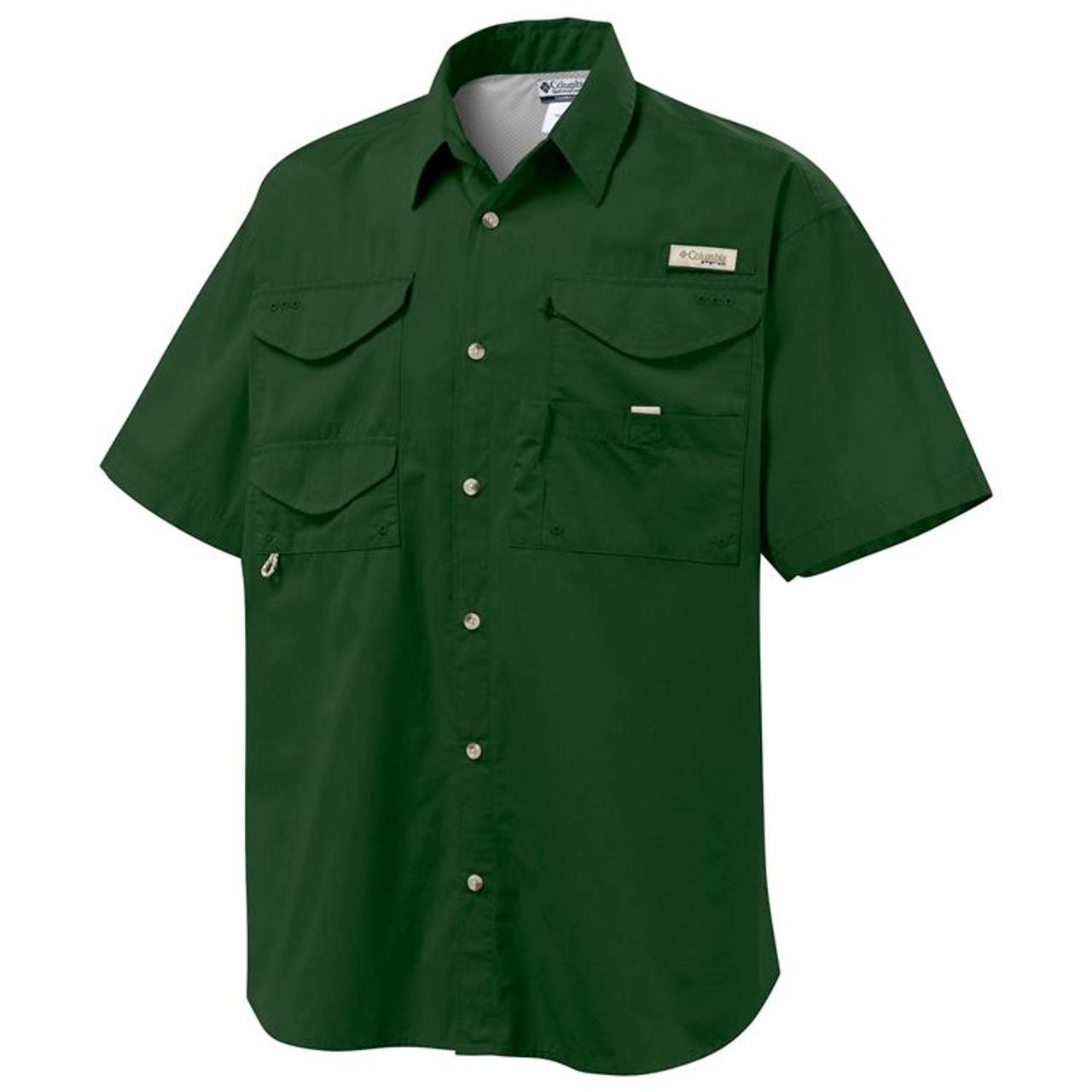 5ab74da93d6 Columbia PFG Bonehead Men's Short-Sleeve Shirt - GolfEtail.com
