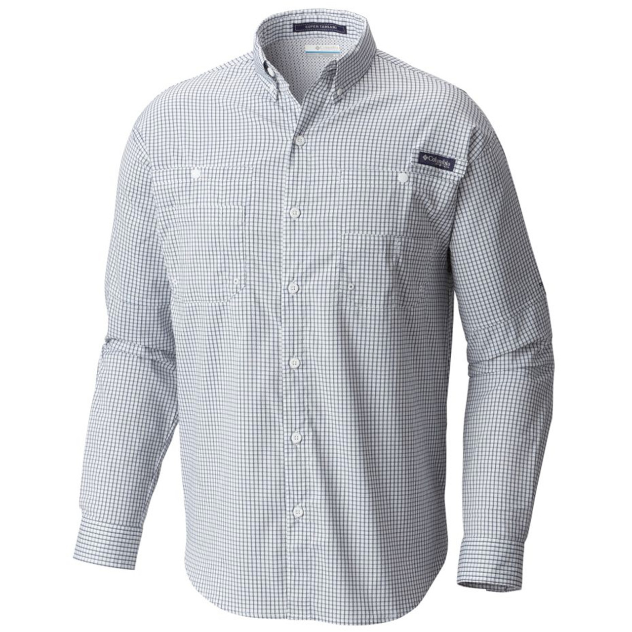 f885afed067 Columbia Sportswear Men's PFG Super Tamiami Longsleeve Shirt - GolfEtail.com
