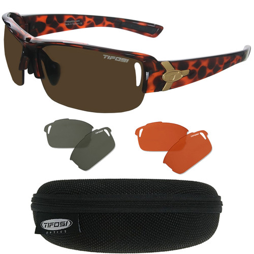 f8a6ac6e06b Tifosi Slope Sunglasses with 3 Interchangeable Lenses - GolfEtail.com