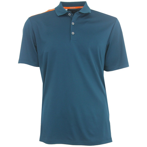 look out for best website exclusive range Adidas ClimaCool Shoulder Accent 3-Stripe Polo Shirt