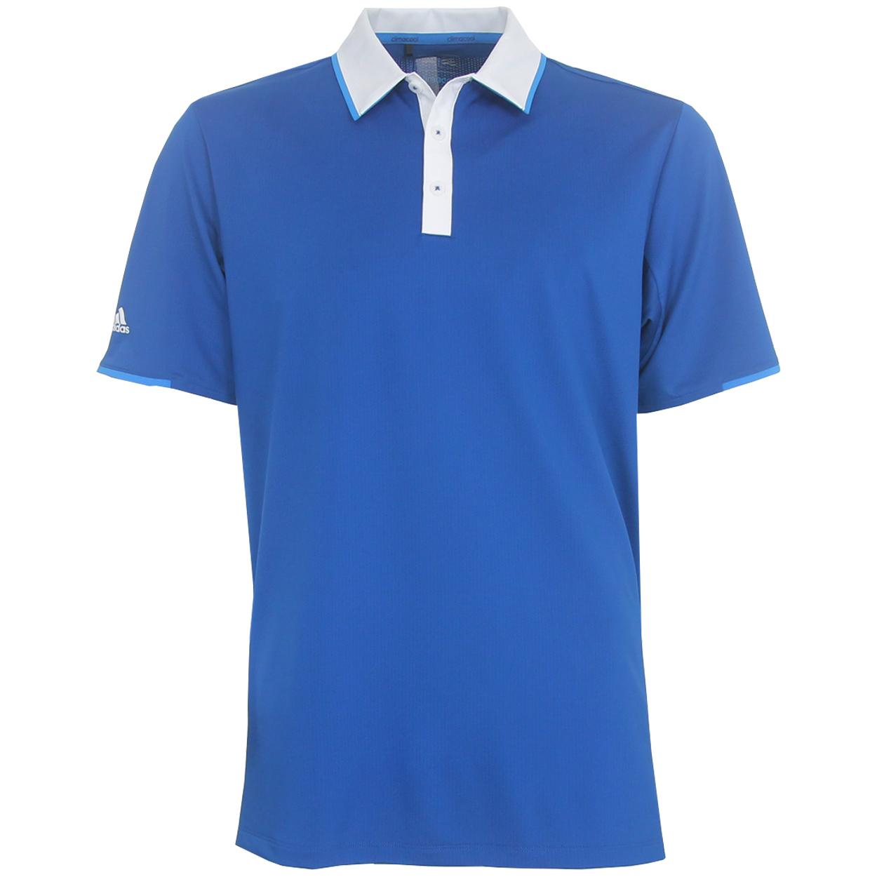 7c96b8aaa4 Adidas ClimaCool Tipped Polo Shirt - GolfEtail.com