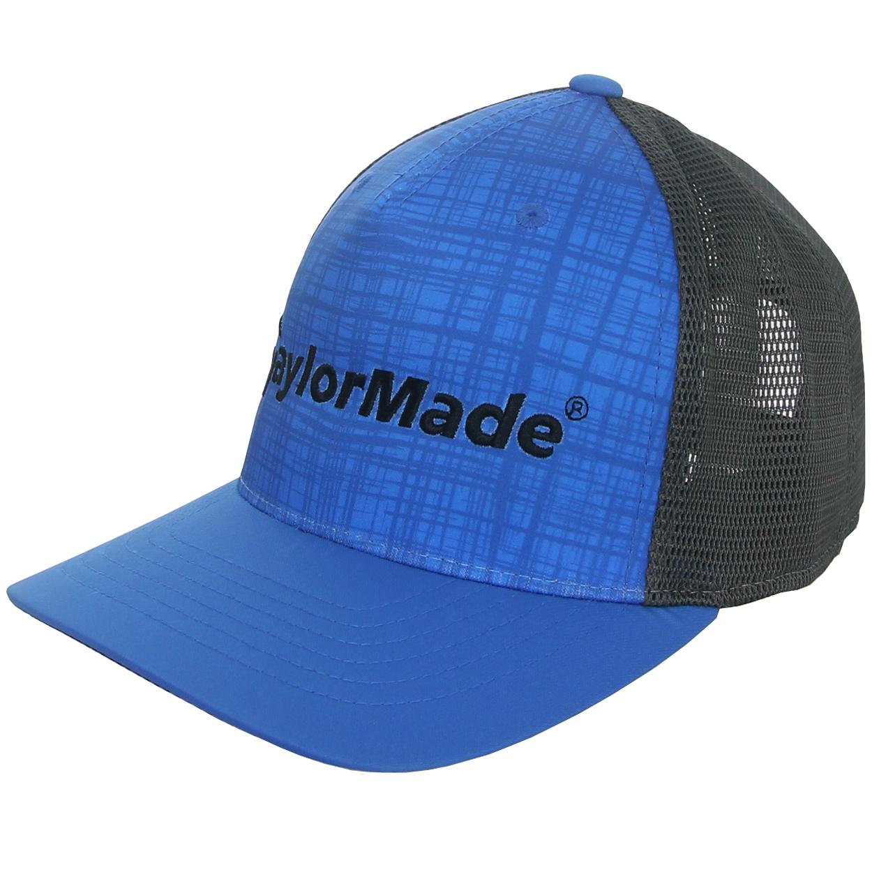 TaylorMade Adidas ClimaCool Flexfit Tech 110 Snapback Mesh Hat ... 8f69ecd3372