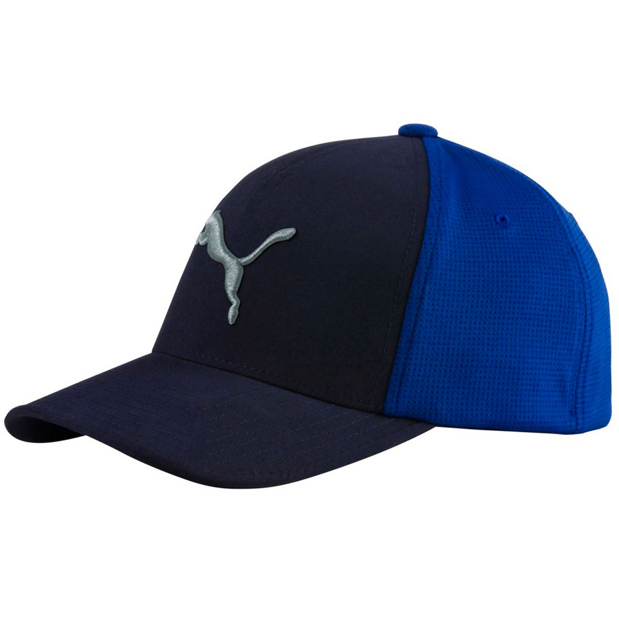 8cd886843f6 Puma Front 9 Flexfit Golf Hat - GolfEtail.com