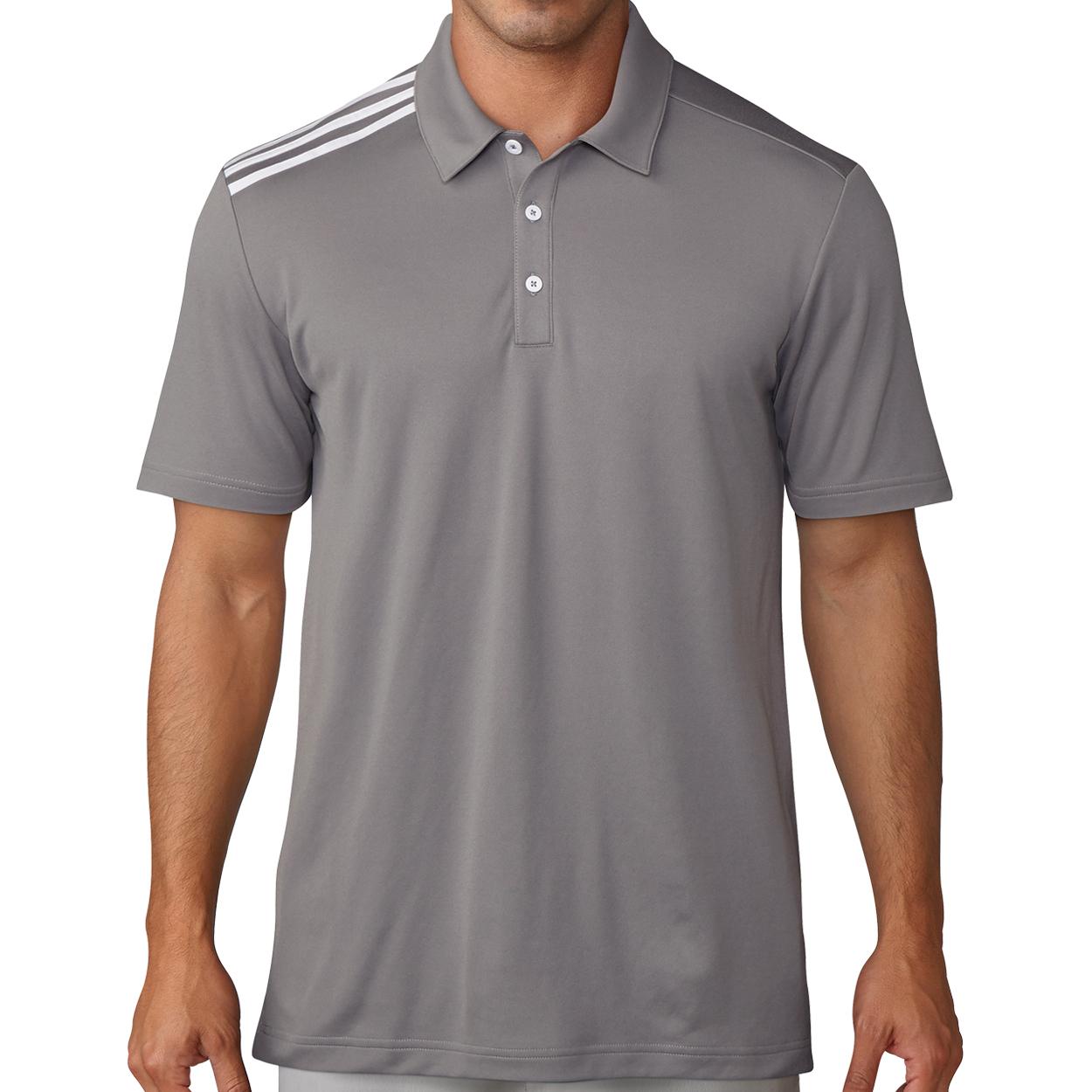 brand new 7df1c 943d9 Adidas Golf Men s Essential 3 Stripe Shirt