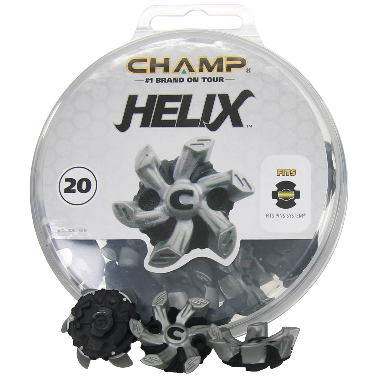 Champ Helix PINS System Soft Spike Replacement Golf Cleats ... 7f4a4674264