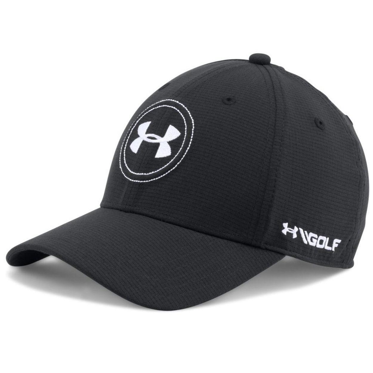 Under Armour Tour 2.0 Stretch Fit Golf Hat - GolfEtail.com 14b65e65643