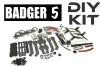 Badger 5 with TOA 2306/2150kv motors DIY kit