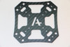 Carbon Fiber Center Plates for CF 226, CF258 and CF 355 (Set of 2)