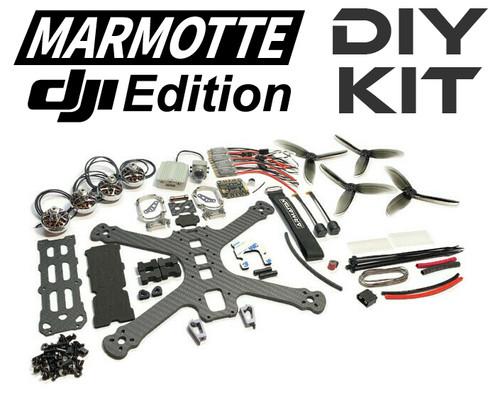Marmotte DJI Edition with TOA 2306/1750kv motors DIY Kit