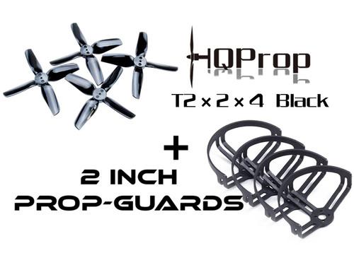 Prop-guards plus 2 inch props