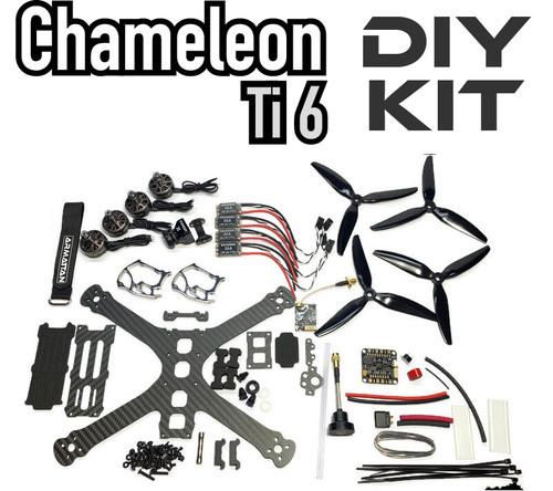 Chameleon Ti 6 with Underdog motors-DIY Kit