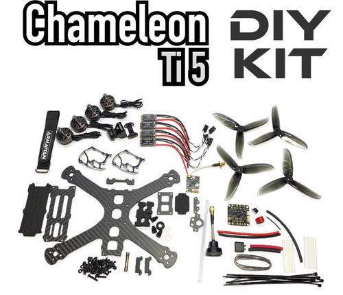 Chameleon Ti 5 with Underdog motors-DIY Kit