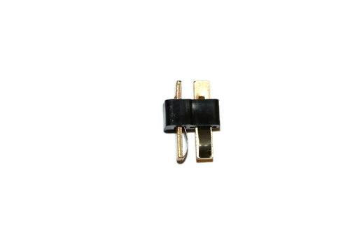 T-Deans Male Battery Connector (Black) (1 piece)