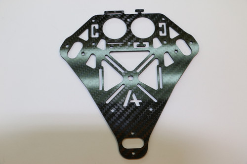 Tricopters and V-Tails Center Plate (1 piece)