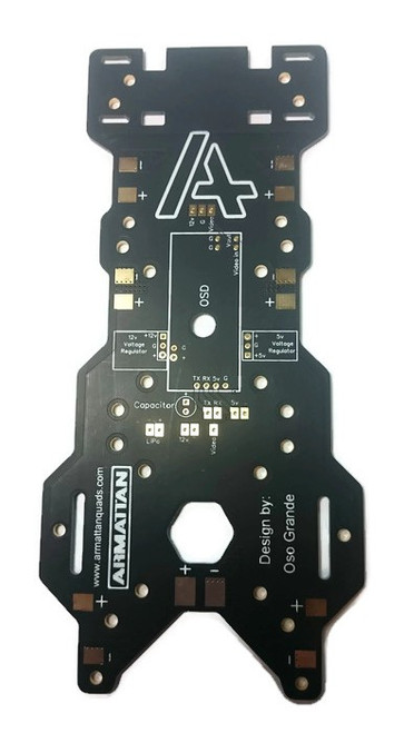 HEXA TILT/ FPV Rev 2 TILT Integrated Power Distribution Board