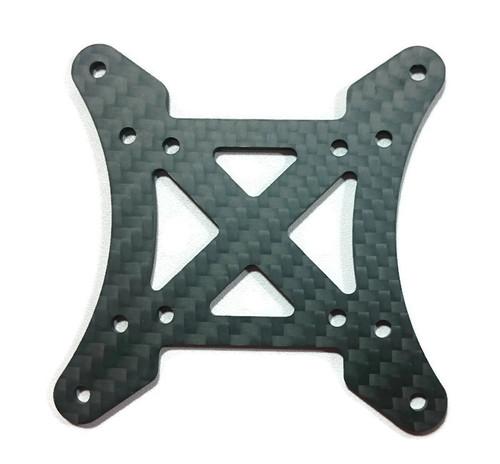 SCX Top Center Plate- black