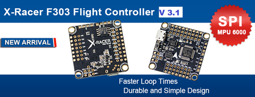 X Racer V3.1 F3 Flight Controller (Out of Stock)