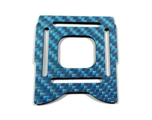Armadillo Big Top Plate- Blue