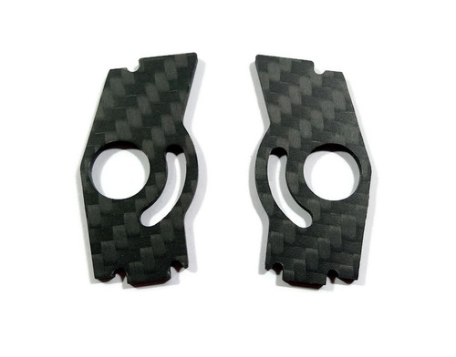 Armadillo/ SCX Cam Braces- Black (with hardware)