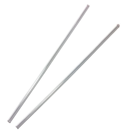 Set of antenna tubes (transparent)