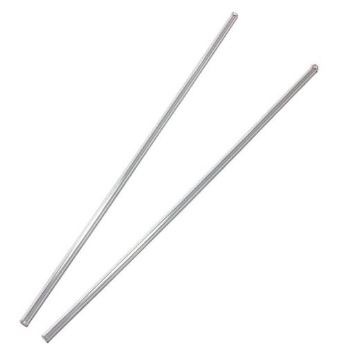 Set of antenna tubes (transparent)